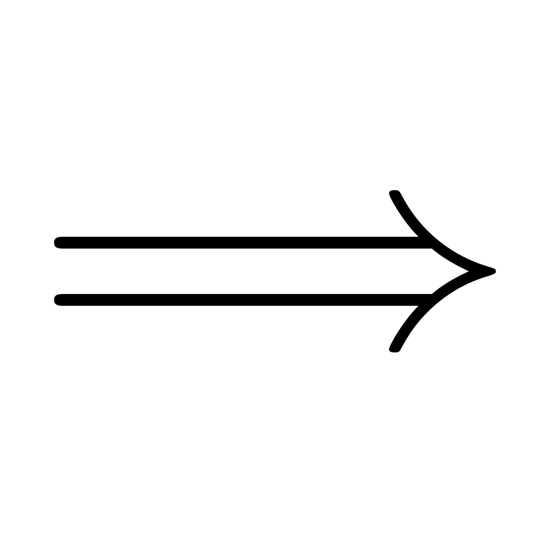 Logical implication symbol